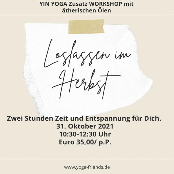 Workshop Yin Yoga mit ätherischen Ölen