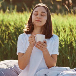 Sonntag Morgen Yoga